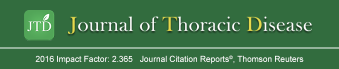 Journal of Thoracic Disease